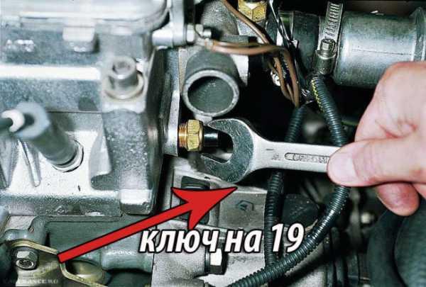 Датчик температуры ВАЗ 2112: где находится, замена