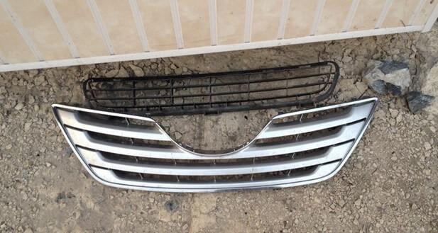 Пороги на Тойота Камри 40: накладки, как снять