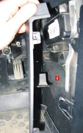 Салонный фильтр на Форд Фиеста: где находится, замена