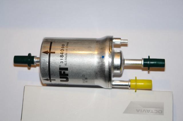 Топливный фильтр skoda octavia: описание, замена